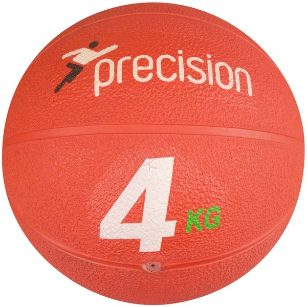 Precision Rubber Medicine Ball - 4kg