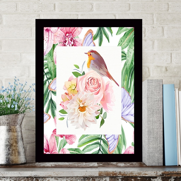 SCZ5083836765 Multicolor Decorative Framed MDF Painting