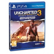 Uncharted 3 Drake's Deception Remastered PS4 Game
