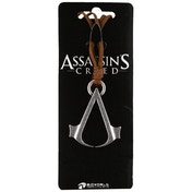 Assassin's Creed Brown Necklace Cord With Metal Symbol Logo