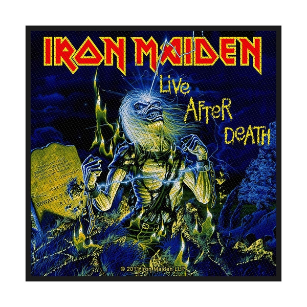 Iron Maiden - Live After Death Standard Patch