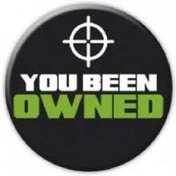 You Been Owned Badge