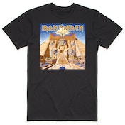 Iron Maiden - Powerslave Album Cover Box Men's XX-Large T-Shirt - Black