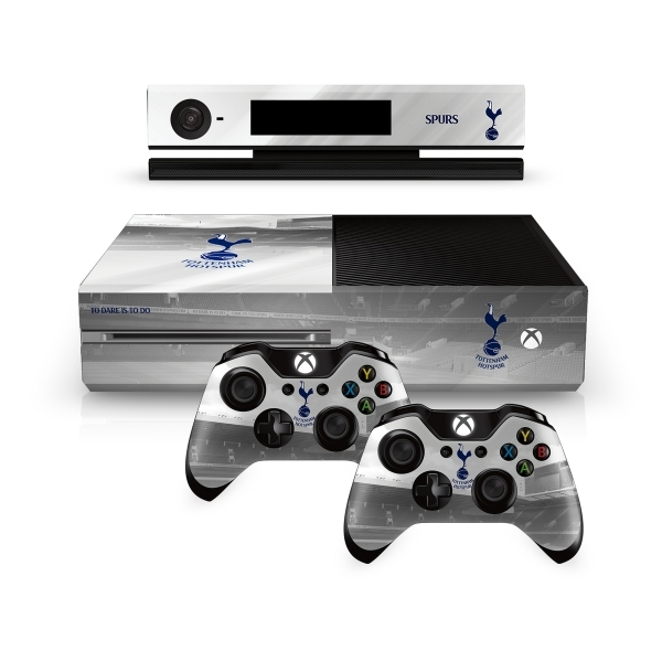 Official Tottenham Hotspur FC Xbox One Console Skin and 2x ... Official Xbox One Console