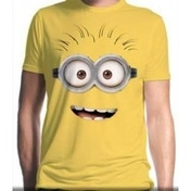 Despicable Me Dave T-Shirt Large - Yellow