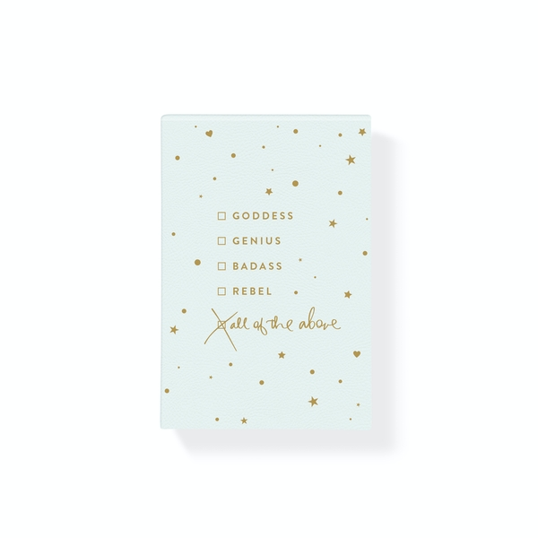 Fringe Studio Hardcover Notepad - All Of The Above