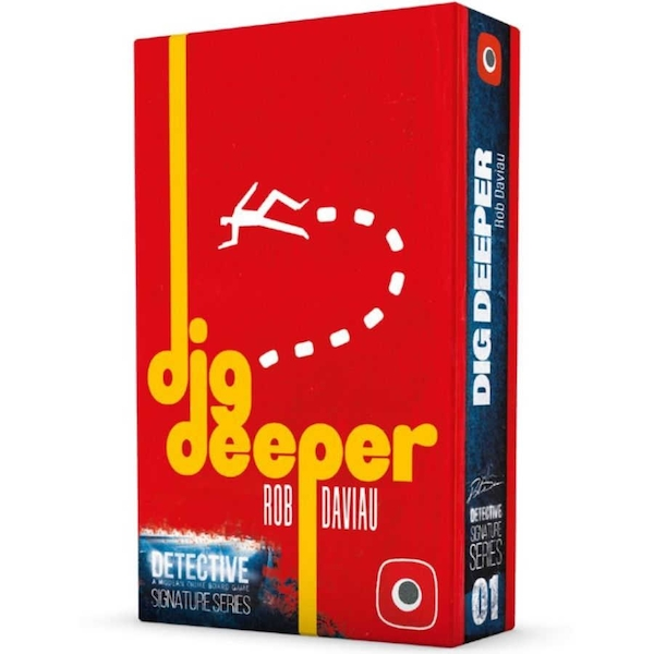 Detective: Dig Deeper Expansion Board Game