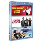 I Now Pronounce You Chuck And Larry/Funny People/Grown Ups DVD