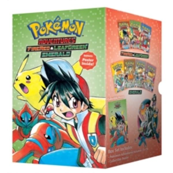 Pokemon Adventures Fire Red & Leaf Green / Emerald Box Set : Includes Volumes 23-29