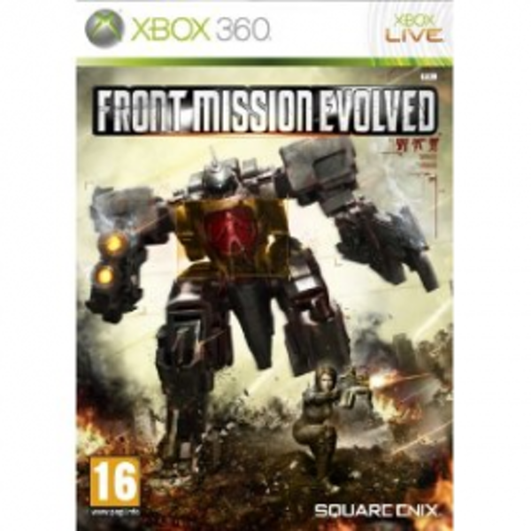Front Mission Evolved Game Xbox 360