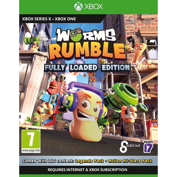 Worms Rumble Fully Loaded Edition Xbox One | Xbox Series X Game