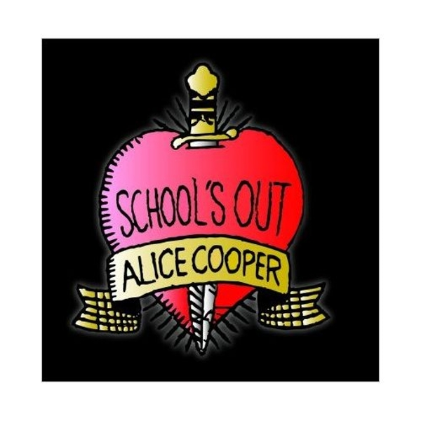 Alice Cooper - School's Out Greetings Card