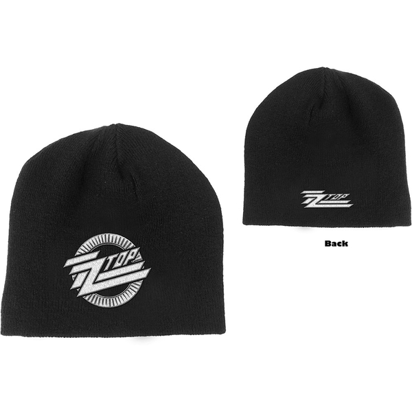 ZZ Top - Circle Logo Men's Beanie Hat - Black