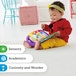 Fisher-Price Laugh and Learn Story, Rhymes, Electronic Educational Toddler Baby Book - Image 6