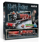 Ex-Display Harry Potter Hogwarts Express 460 Piece Jigsaw Puzzle Wrebbit 3D Used - Like New