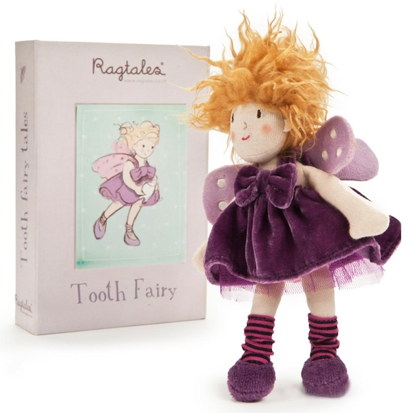 Ragtales Rag Doll - Willow The Tooth Fairy (1 Random Supplied)