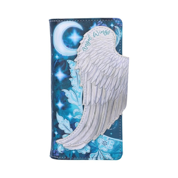 Angel Wings Embossed Purse