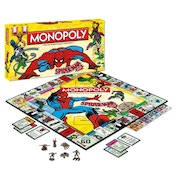 Spider-Man Monopoly Board Game