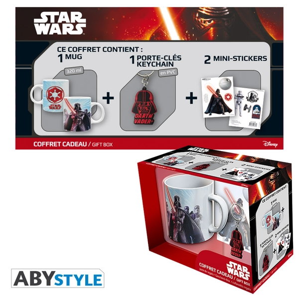 Star Wars - Vador (Mug + Keyring + Sticker) Gift Box