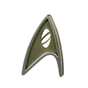 Quantum Mechanix Star Trek Beyond Magnetic  Science Insignia Badge