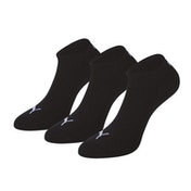 Puma Sneaker Invisible Socks (3 Pairs)  9-11  Black