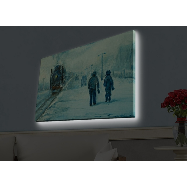 4570HDACT-040 Multicolor Decorative Led Lighted Canvas Painting