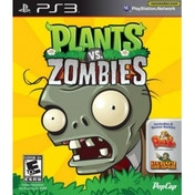 Plants vs Zombies Game PS3