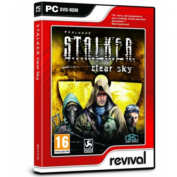 S.T.A.L.K.E.R. (Stalker) Clear Sky Game PC