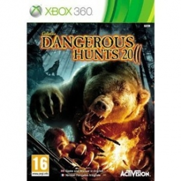 Cabelas Dangerous Hunts 2011 Game Xbox 360