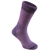 Bridgedale Women's MerinoFusion Summit Socks, Purple - Medium