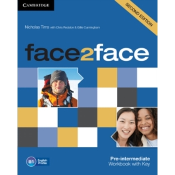 Face2face Pre-intermediate Workbook with Key by Nicholas Tims (Paperback, 2012)