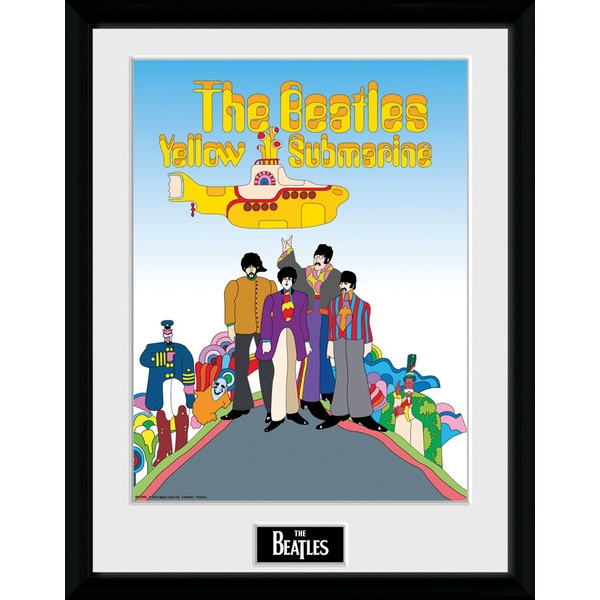 """The Beatles Yellow Submarine 12"""" x 16"""" Collector Print"""