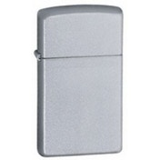 Zippo Slim Satin Chrome Lighter