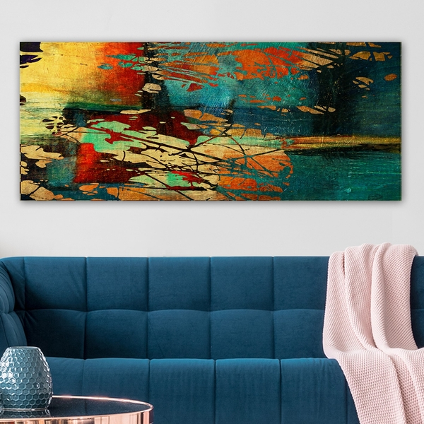 YTY6520837_50120 Multicolor Decorative Canvas Painting