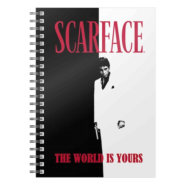 Scarface Notebook The World Is Yours