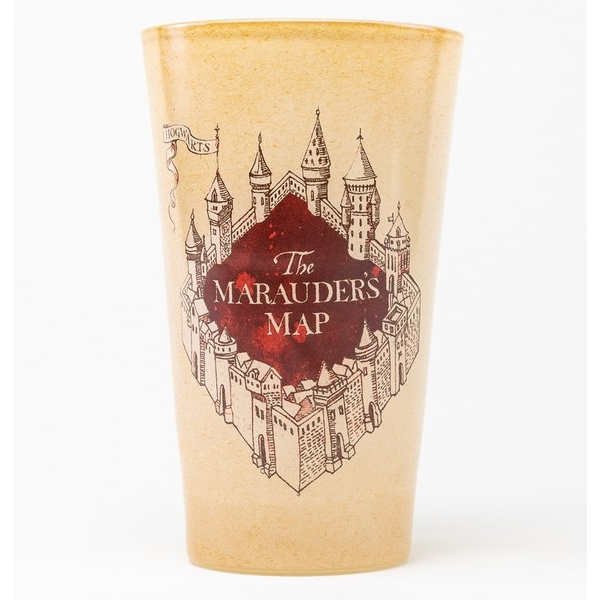Harry Potter Marauders Map Coloured Glass - Image 2