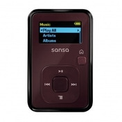 SanDisk Sansa Clip+ 4GB MP3 Player with Radio and Expandable MicroSD/SDHC Slot Red
