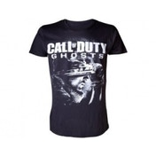 Call of Duty Ghosts Men's Soldier Logo Large T-Shirt Black