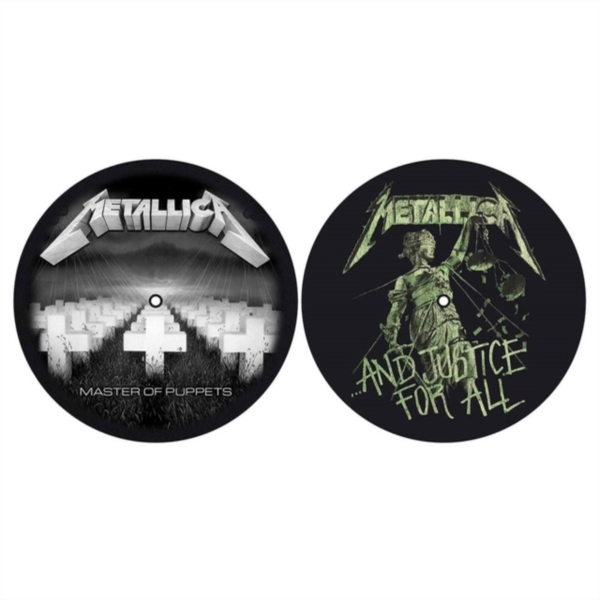 Metallica - Master Of Puppets & ...And Justice For All Slipmat Set