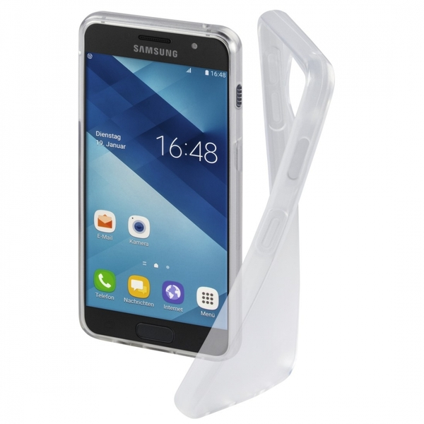 Hama Crystal Clear Cover for Samsung Galaxy A3 (2017), transparent