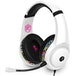 STEALTH Street Gaming Headset with Stand (White with Black/Graffiti Stand) - Image 2