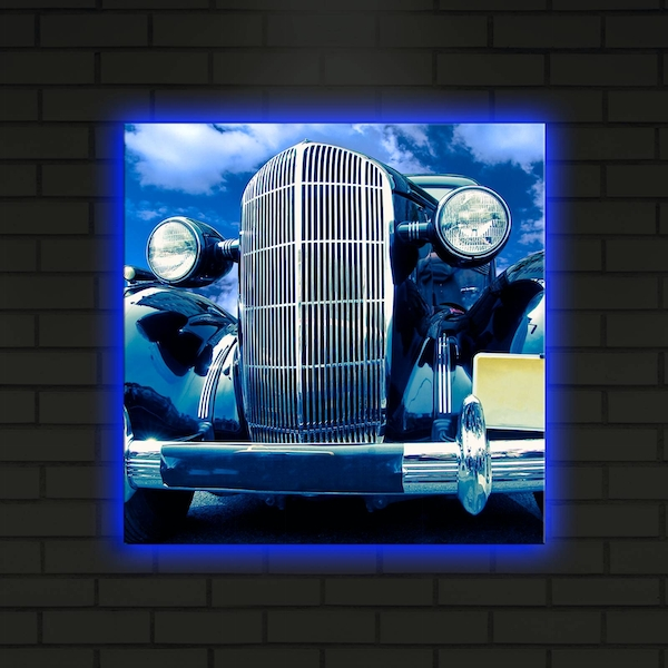 4040DACT-24 Multicolor Decorative Led Lighted Canvas Painting