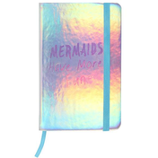 Iridescent Mermaid A6 Notebook