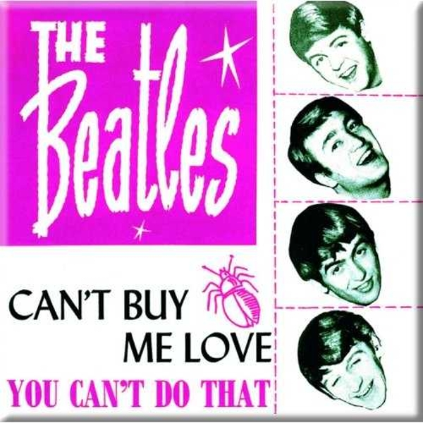 The Beatles - Can't Buy Me Love/You Can't Do That (Pink Version) Fridge Magnet