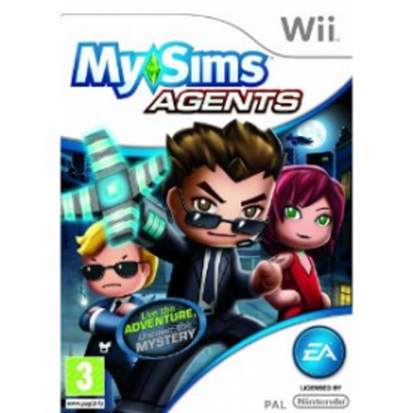MySims Agents Game Wii