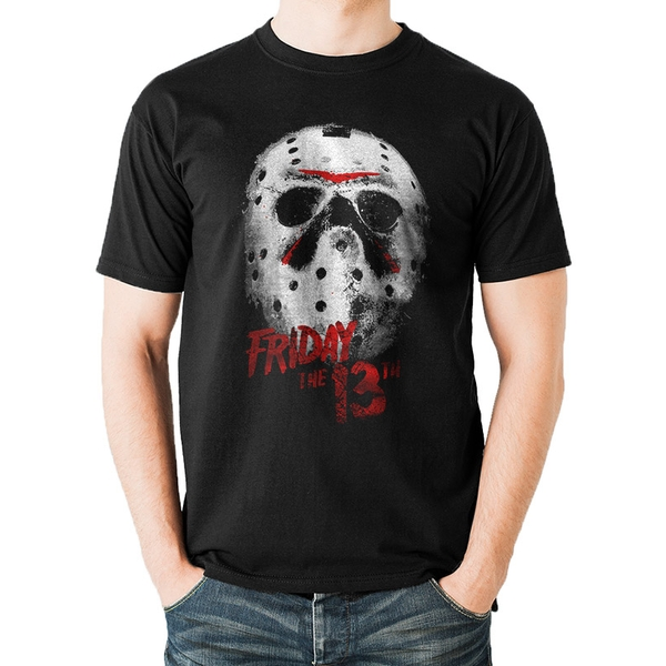 Friday The 13Th - Mask Men's Small T-Shirt - Black