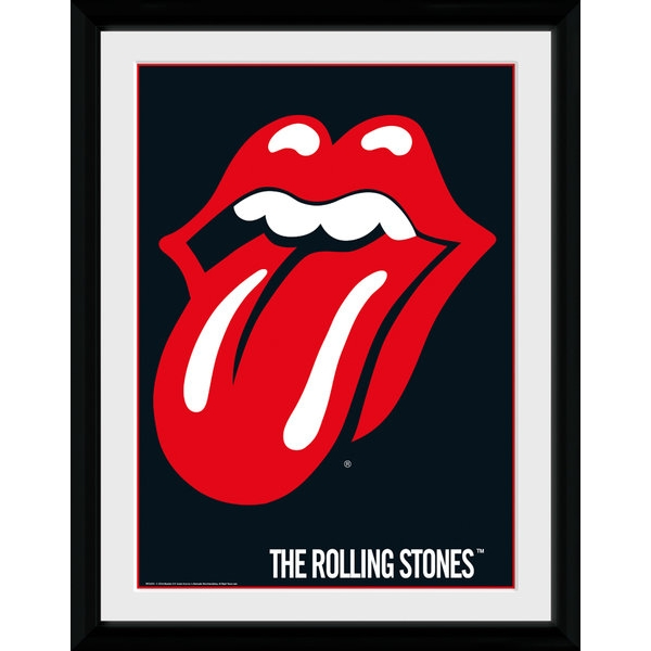 Rolling Stones Lips Collector Print (30 x 40cm)