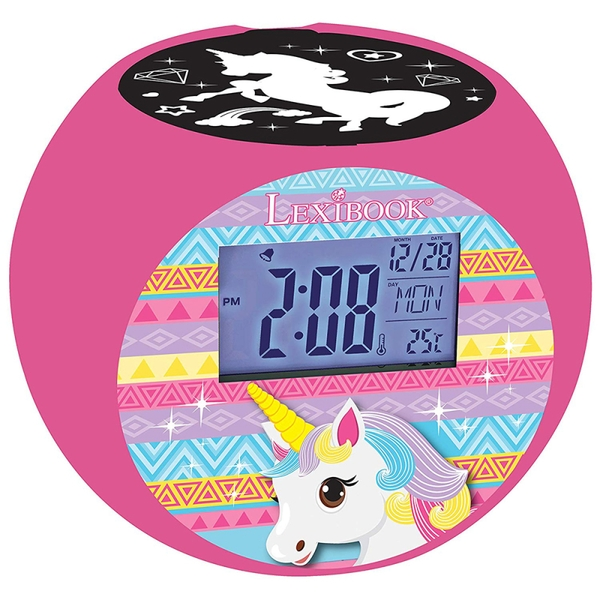 Lexibook RL975UNI Unicorn Radio with Projector Alarm Clock