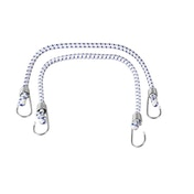 SupaTool Bungee Cord Set with Metal Hooks 600mm x 12mm