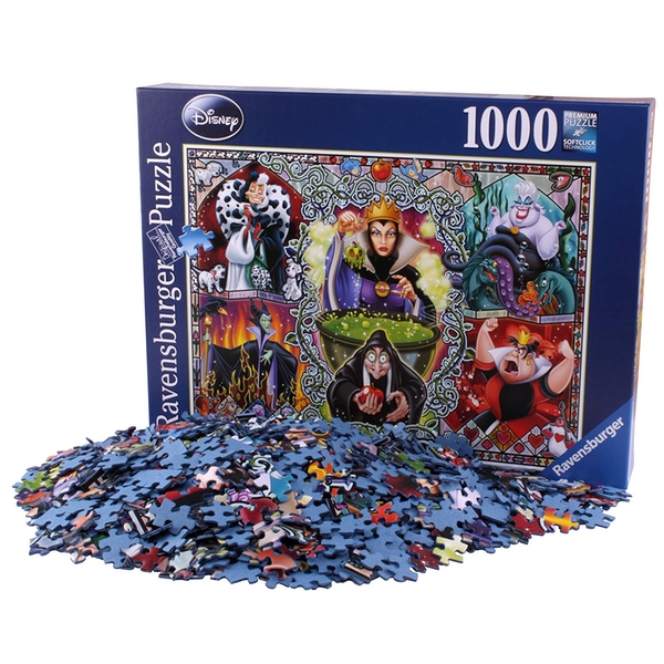 Ravensburger Disney Wicked Women 1000 Piece Jigsaw Puzzle